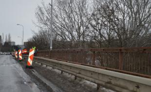 Na moste v Šali opravujú zábradlie, rátajte s určitými obmedzeniami