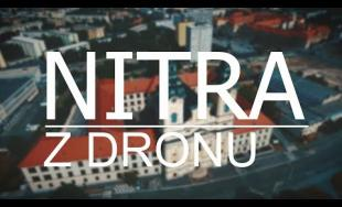 Nádherné zábery na mesto Nitra z výšky